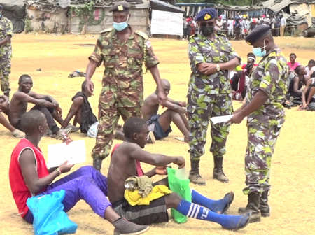 Senators Want Recently Concluded KDF Recruitment Revoked