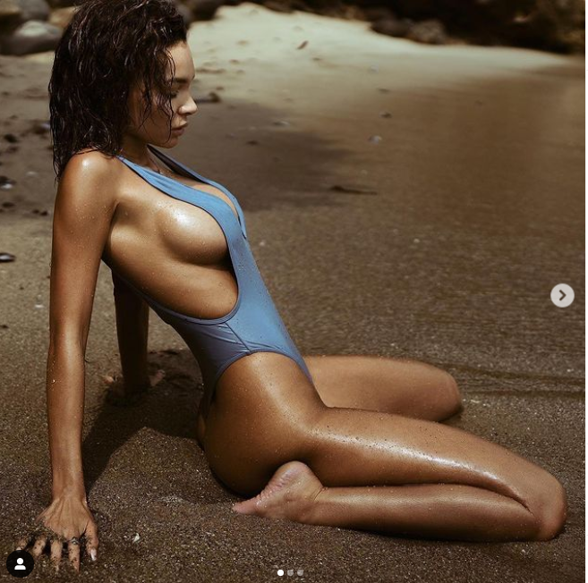Check Out Hot Photos Of Alyssa Scott, The Model Pregnant With Nick Cannon's '7th Child'