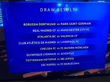 UCL DRAW! See key dates en route UEFA Champions League final, Istanbul 2020