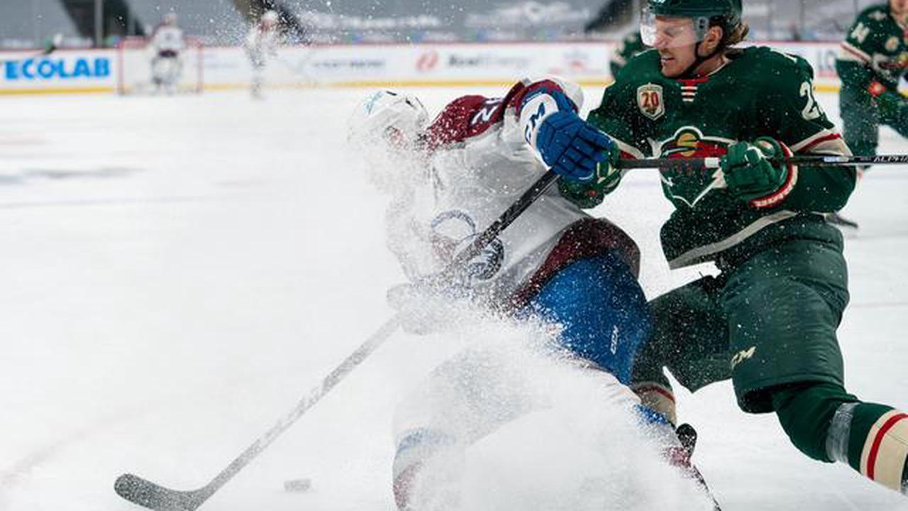 Wild emphatically end Avalanche's point streak
