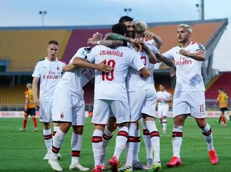 Calhanoglu grabs the spotlight as Milan sinks relegation threatened Lecce