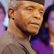 Yemi Osinbajo, an old student of Corona School in Lagos.