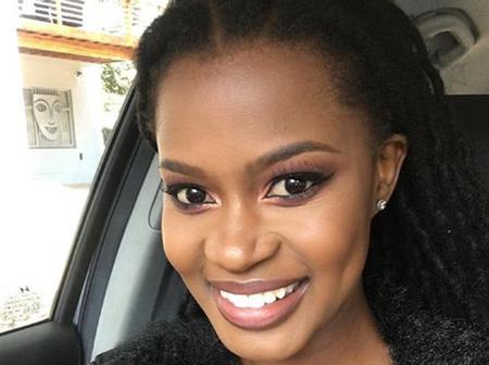 Zenande Mfenyane is fuming after being given the reason why her family loves her daughter