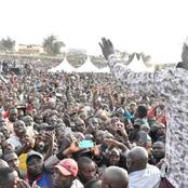 William Ruto Takes Over Meru By Storm In His Stopover