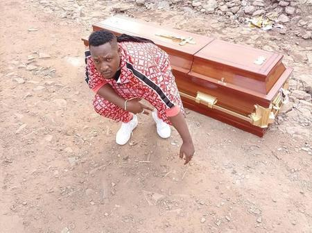 Musician Buys Coffin in Anticipation of His Funeral