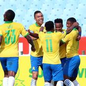 Sundowns Set to miss One of their Stars for a Second Leg Game Against TP Mazembe