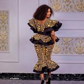 See the latest skirt and blouse outfits that shows how one of a kind an African lady is (photos)