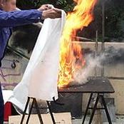 If your gas cylinder catches fire do not panic, do this to quench the fire without any damage