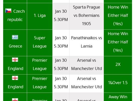 Stake On these Well Analysed Soccer Predictions and Win Ksh 9000 Tonight.