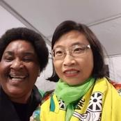 Is this Minister Jackson Mthembu's Chinese replacement?