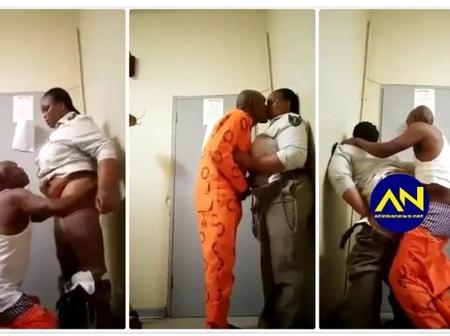 Prisoner Warden Caught In Sex Tape Finds Herself In A Hot Water