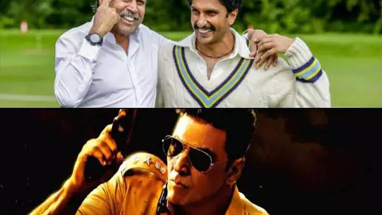 Confirmed: Sooryavanshi and '83 to release in the first quarter of 2021