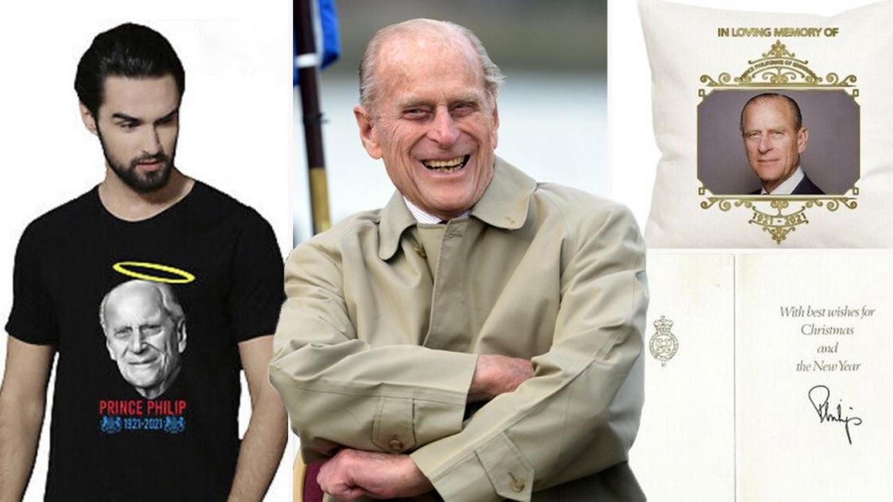 DoE awards flogged on eBay as Prince Philip 'merch' takes off after his death