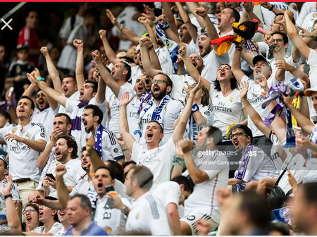Reactions of Real Madrid fans after Real Madrid defeated Real Valladolid in the Spanish LaLiga.
