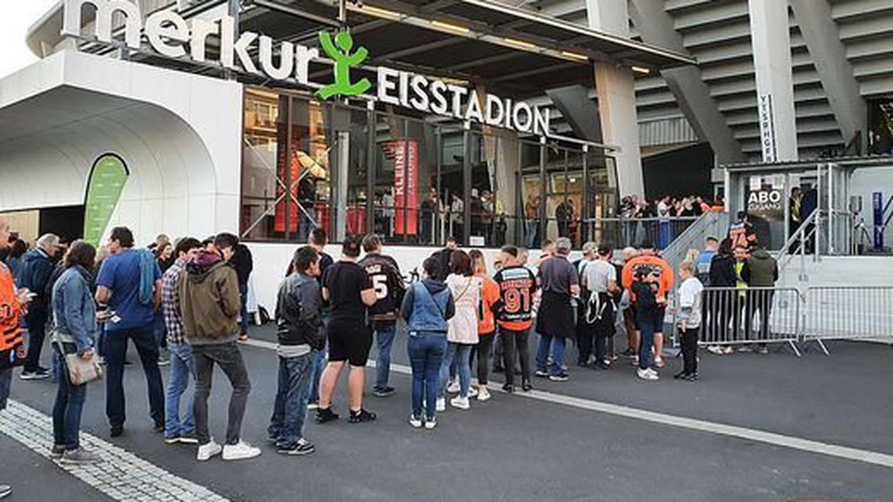 Graz99ers - Dornbirn |Großer Andrang vor dem Saisonauftakt, Anpfiff verzögert sich um zehn Minuten