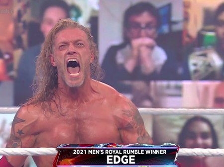 11 years to the day, Edge WINS his second Royal Rumble Match!