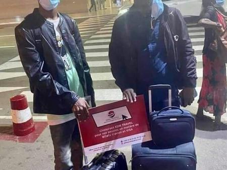 Deversaille à l'aéroport, enfin il prend son vol pour Dubaï