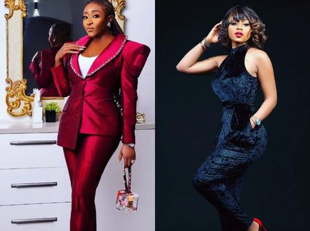 Look at what Ini Edo and other celebrities said when Regina Daniels shared these 2 new photos