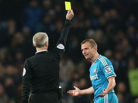 EPL Footballers Who Have More Than 90 Yellow Cards - See Photos