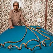 Check Out the Man with Longest Fingernails on One Hand