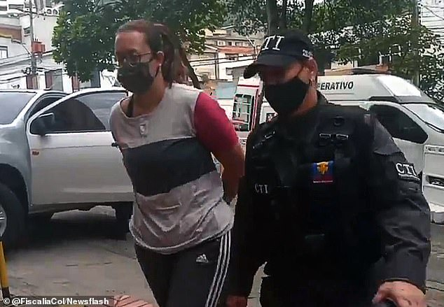 Colombian drug cartel accused of giving women breast implants made of liquid cocaine before sending them to Europe is raided by police (photos)