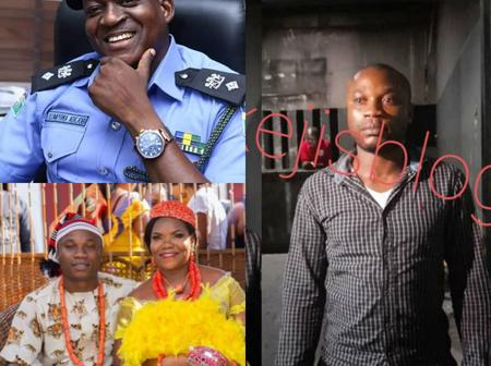 We Did Not Release The Man Who Killed His Pregnant Wife, He's Here In The Cell- Nigerian Police Says