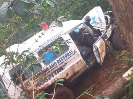 Ambulance Involved In A Tragic Road Accident While Transferring A Critically ill Patient