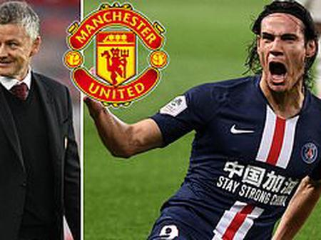 Arsenal Have Signed £45 Million Midfielder, Cavani Joins Man Utd on One-Year Deal.
