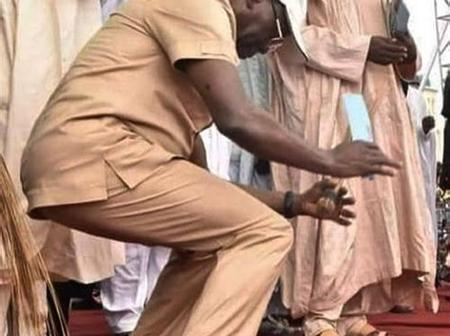 Adams Oshiomole is Very Active During Election Campaign, See Photos Of Him Dancing During Campaigns