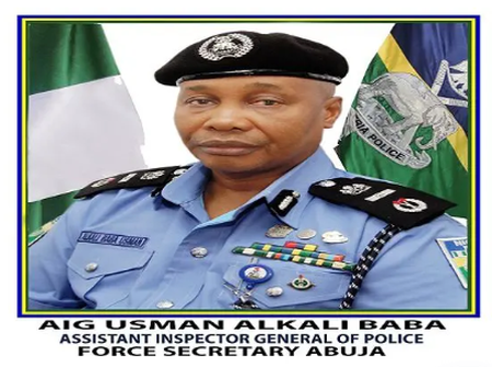 Everything you Should know about the New IG of Police Usman Alkali Baba.