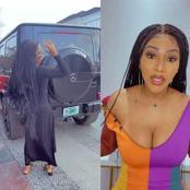 Bbnaija Star, Mercy Eke Shows Off Her Latest Car