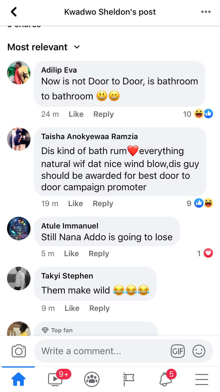 303561012df18006fd6c1c9bf8612b53?quality=uhq&resize=720 - Trending Photo: NPP Sympathiser Trying To Convince A Lady In A Bathroom To Vote Nana Addo Goes Viral