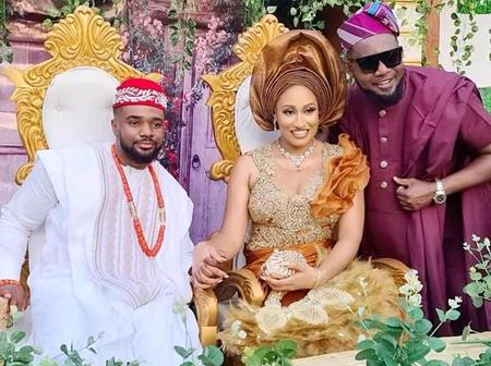 See Beautiful Pictures from the Traditional Wedding of Williams Uchemba to Brunella Oscar
