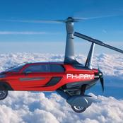 World's First Flying Car is Going on Sale. See Photos.