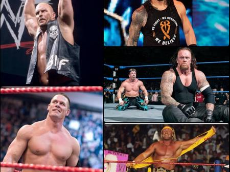 The Top 5 Greatest WWE Champions of all time.