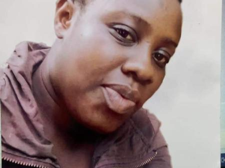 44-year old woman cries over her missing daughter