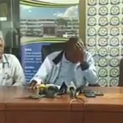 Health Minister Breaks Into Tears While Addressing Media After This Happened