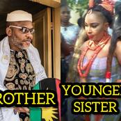 See How Beautiful The Younger Sister And Wife Of Nnamdi Kanu Look (Photos)