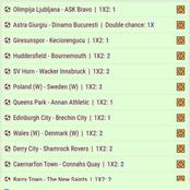 Six Best Picks With Amazing Odds To Stake on And Earn You Abundantly Tonight