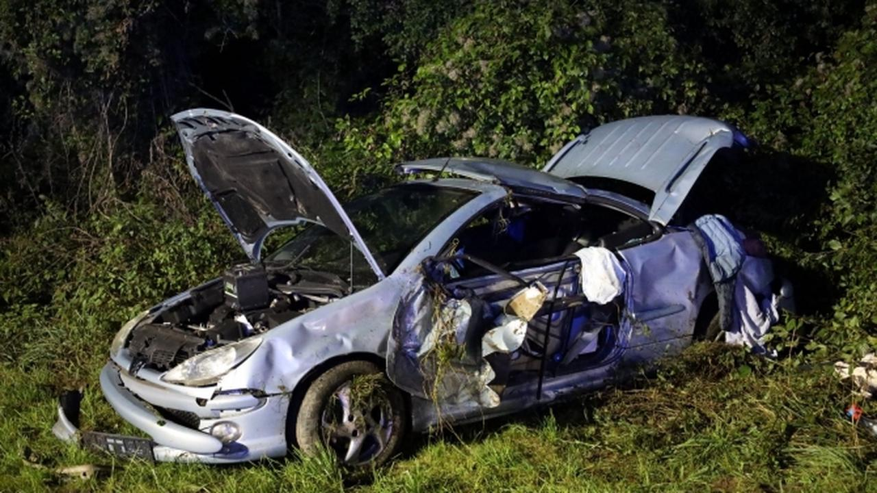 Schwerer Verkehrsunfall auf A7 bei Berkheim