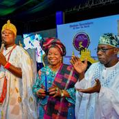 5TH ANNIVERSARY: Obasanjo, Sultan, Emir of Kano, Alaafin, Olubadan, and others celebrate Ooni.