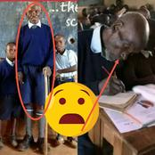 (Flashback)Benefit Of Free Primary Education; How An Elderly Man Enrolled As A Pupil Shows Education Is Good