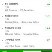 Italy Serie A And Spanish Laliga Well Analysed Matches