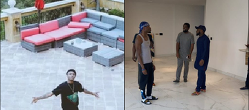 Wizkid's Mansion Vs Davido's Mansion: Which is More Beautiful?[Photos]