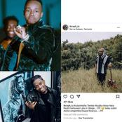 Ibraah Fails To Hold Himself As Rayvanny Attacks Harmonize, Fires Back at Him