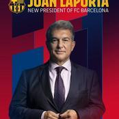 Joan Laporta elected new Barcelona president