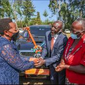 Rachael Ruto Gifts Her Primary School Head Teacher a Car