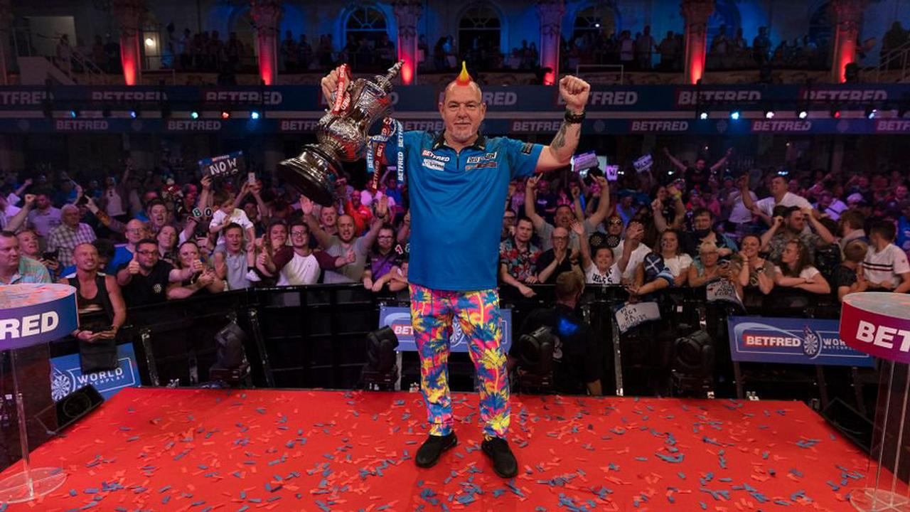 Peter Wright has eyes on world number one spot after winning Matchplay