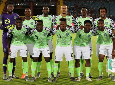 Check Nigeria's Position In FIFA World Rankings For 2021