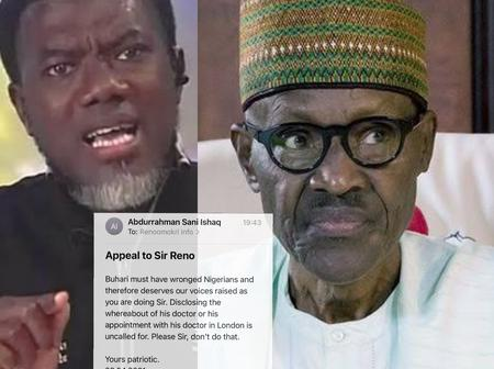 After Omokri Threatened To Release The Address Of Buhari's UK-Doctor, See The Email A Allegedly Man Sent To Him